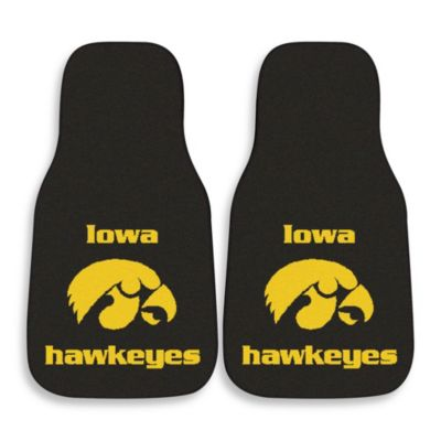 University of Iowa Carpeted Car Mats (Set of 2)