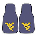 West Virginia University Nylon Car Mat (Set of 2)