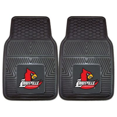University Of Louisville Vinyl Car Mat (Set of 2)