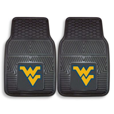 West Virginia University Vinyl Car Mat (Set of 2)