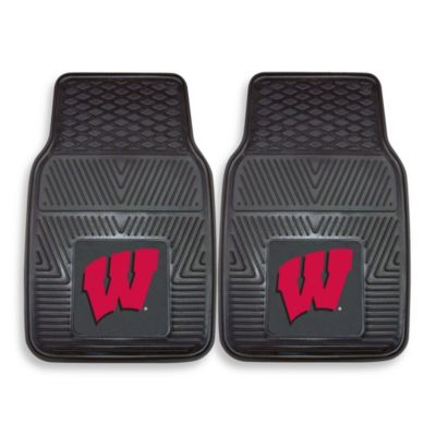University of Wisconsin Car Mat (Set of 2)