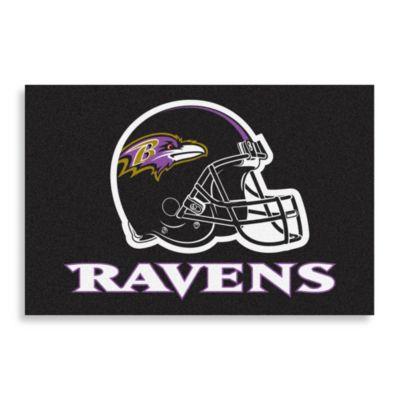 NFL Baltimore Ravens 20-Inch x 30-Inch Floor Mat