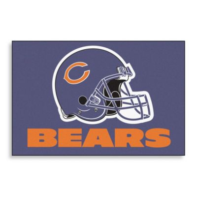 NFL Chicago Bears Helmet 20-Inch x 30-Inch Floor Mat