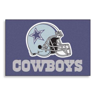 NFL Dallas Cowboys Helmet 20-Inch x 30-Inch Floor Mat