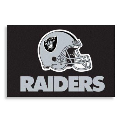 NFL Oakland Raiders 20-Inch x 30-Inch Floor Mat