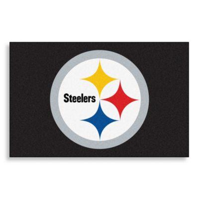 NFL Pittsburgh Steelers Helmet 20-Inch x 30-Inch Floor Mat