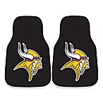 NFL Minnesota Vikings Carpet Car Mat (Set of 2)