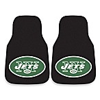 NFL New York Jets Carpeted Car Mats (Set of 2)