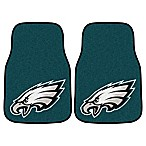 NFL Philadelphia Eagles Carpeted Car Mats (Set of 2)