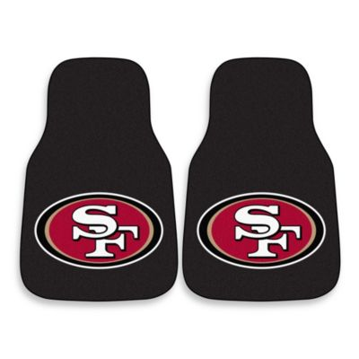 NFL San Francisco 49ers Carpeted Car Mats (Set of 2)