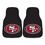 NFL San Francisco 49ers Carpeted Car Mats (Set of 2)