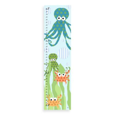 Green Leaf Art Octopus Growth Chart