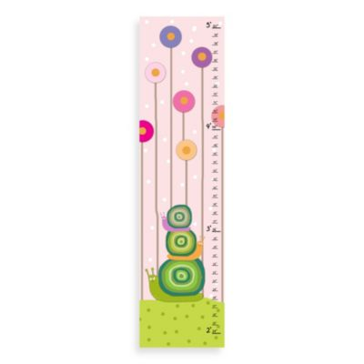 Green Leaf Art Family Snails Growth Chart