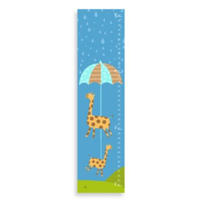 Green Leaf Art Rainy Day Growth Chart