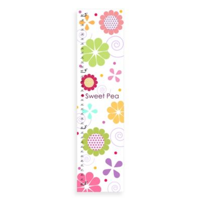 Green Leaf Art Sweet Pea Growth Chart