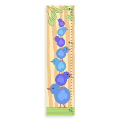 Green Leaf Art Stacked Chickens Growth Chart