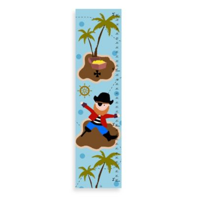 Green Leaf Art Pirate Growth Chart