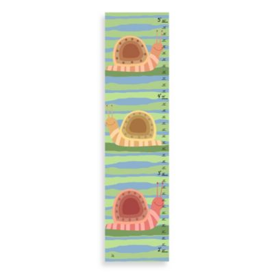 Green Leaf Art Snails Growth Chart