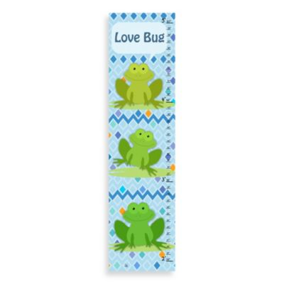 Green Leaf Art Love Bug Growth Chart