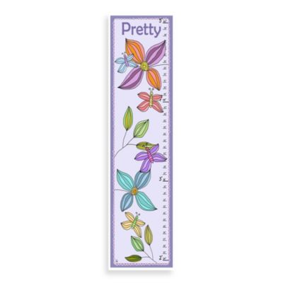 Green Leaf Art Pretty Growth Chart