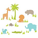 WallPops!® Jungle Friends Wall Art Kit