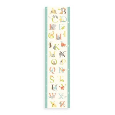 WallPops!® ABC Jungle Growth Chart