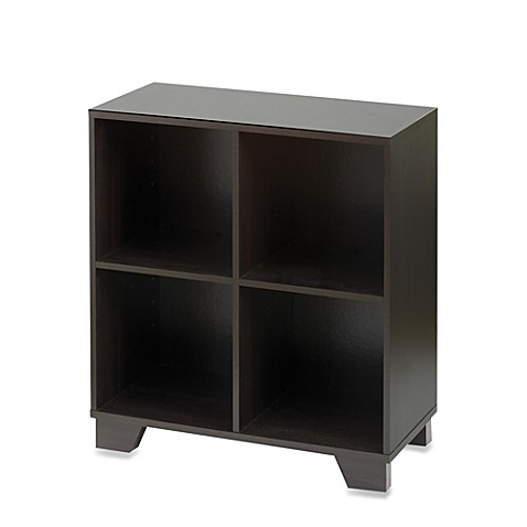 Real Simple 174 4 Cube Organizer In Espresso Bed Bath Amp Beyond