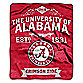 University of Alabama Raschel Throw