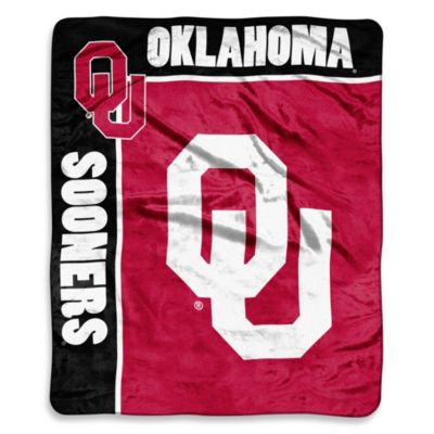 University of Oklahoma Raschel Throw