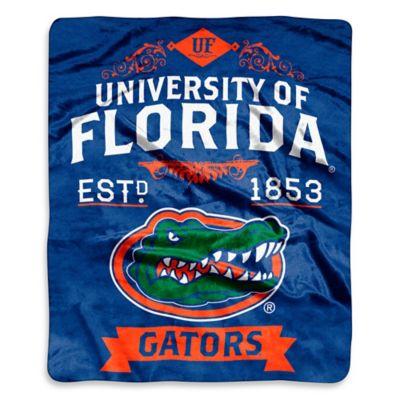 University of Florida Raschel Throw
