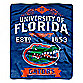 University of Florida Raschel Throw