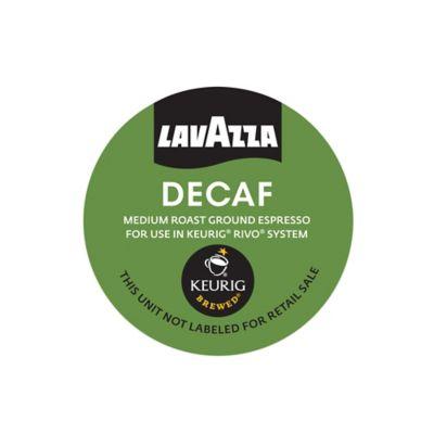 Lavazza® 18-Count Decaf Espresso for Keurig® Rivo® Brewers