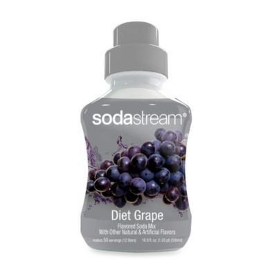 SodaStream Diet Grape Sodamix Flavor
