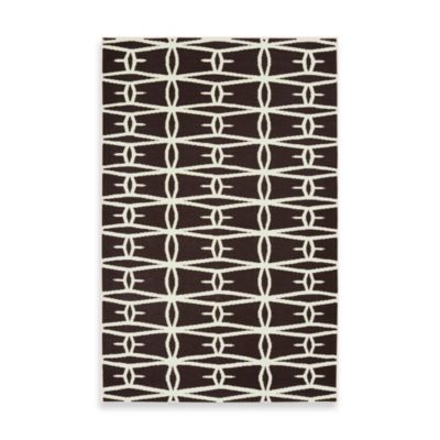 Anderson Lattice Rug in Black