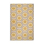 Andrews Honeycomb Rug in Butter