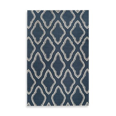 Anna Geometric Rug 2-Foot x 3-Foot in Slate