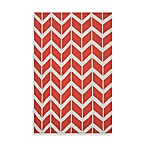 Anton ZigZag Rug in Poppy