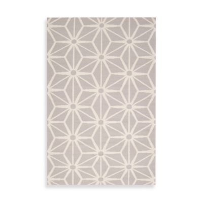 Athens Rug 2-Foot x 3-Foot in Light Grey