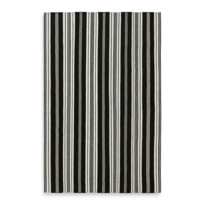 Deaver Rug in Black/Ivory