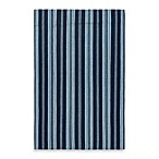 Surya Farmhouse Stripes Rug in Navy/Light Blue