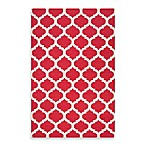 Evesham Rug in Venetian Red/Oatmeal