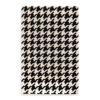 Bergen 2-Foot x 3-Foot Rug in Ivory/Black