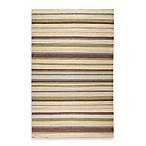 Linden Rug in Taupe Stripe