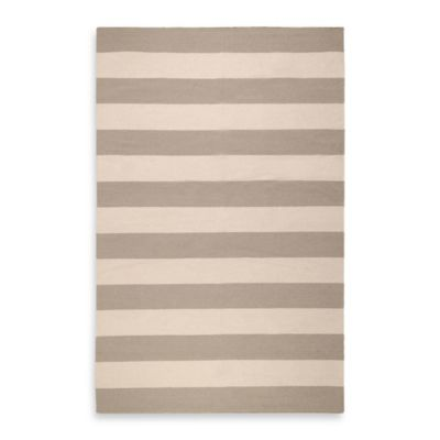 Grey/Ivory Stripe