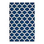 Evesham Rug in Royal Blue/Ivory
