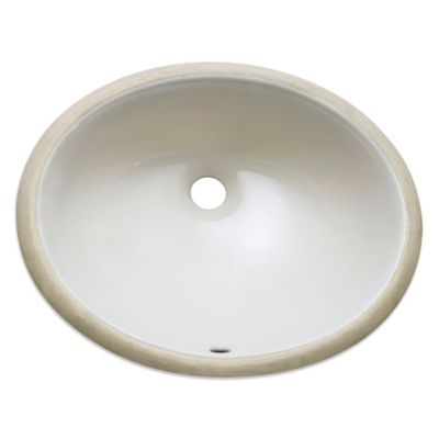 Avanity Undermount Oval Vitreous China Sink