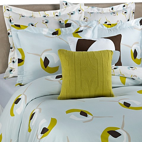 DVF Studio™ Graphic Poppy Twin Duvet Cover