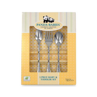 Ginkgo® 3-Piece Baby Tableware Set
