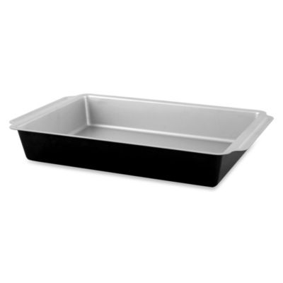 Culinary Institute of America Non-Stick Rectangular 4 -Inch x 9 -Inch Cake Pan
