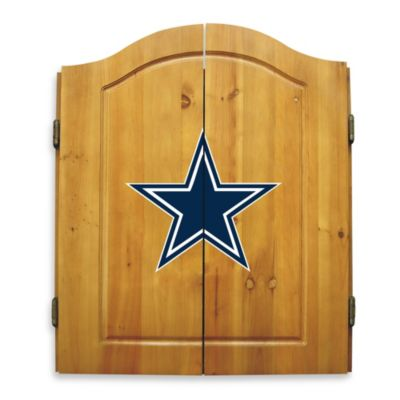 NFL® Dallas Cowboys Complete Dart Cabinet Set